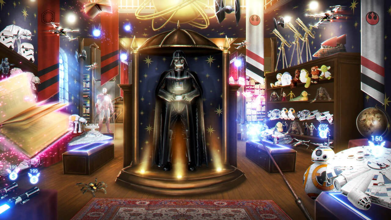 Darth Vader Virtual Reality Example