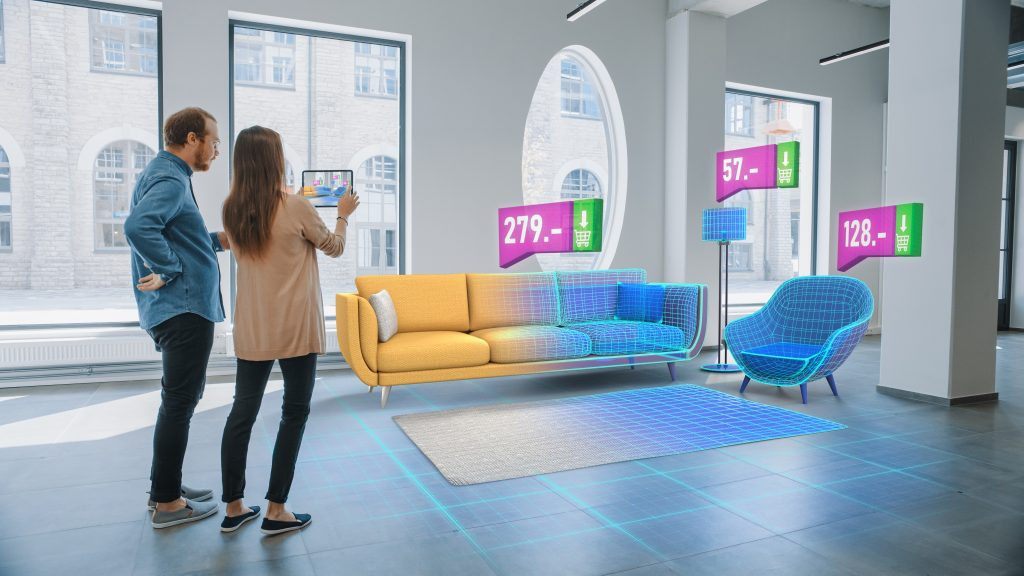AR, VR, and 3D product visualization